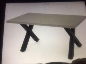 Patio Table - concrete