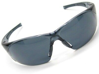 Bolle 40071 Clear Smoke Rush Smoke Anti Scratch Lens Safety Glasses