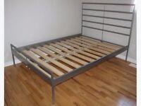 ikea metal bed frame