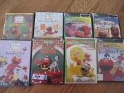 Elmo DVD Lot