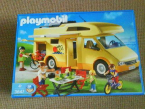 playmobil wohnwagen g nstig online kaufen bei ebay. Black Bedroom Furniture Sets. Home Design Ideas