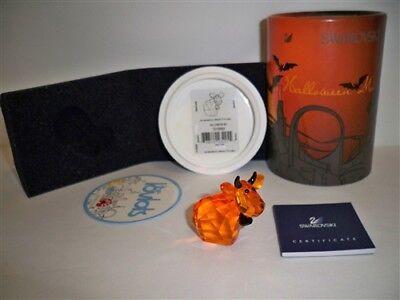 SWAROVSKI LOVLOTS HALLOWEEN MO 2009 LIMITED EDITION RETIRED 1016560 BNIB COA](Halloween Mo)