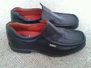 Boys Black Slip on Shoes