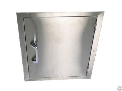 Stainless Steel Doors Outdoor Cooking Eating Ebay