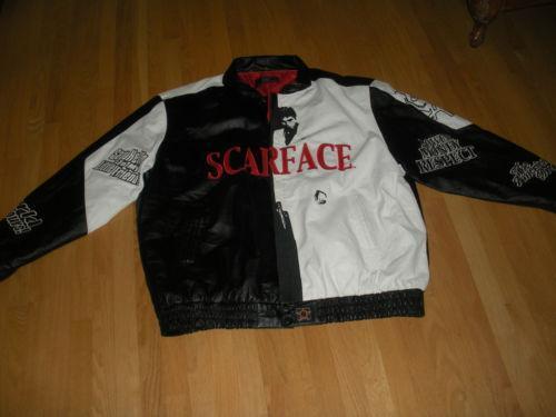 Scarface Leather Jacket Ebay