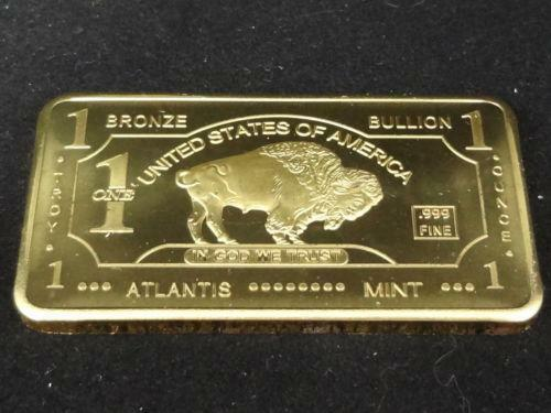 Bronze Bullion Ebay