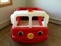 Toddler Fire engine bed