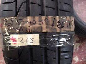 PIRRELI 255-40-19 100Y tyre