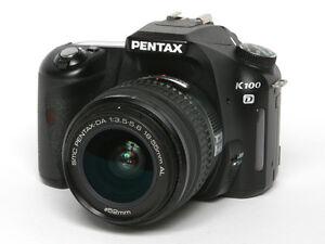 Pentax K100 DSLR Camera