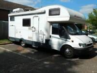 Looking for motorhome or campervan