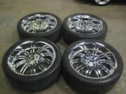 24 Rims and Tires Used