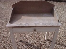 French Vintage Marble Washstand
