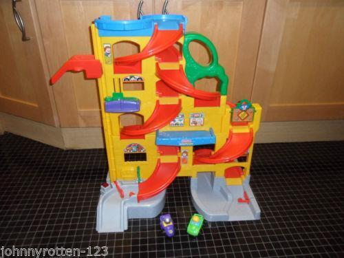 fisher price garage ebay. Black Bedroom Furniture Sets. Home Design Ideas