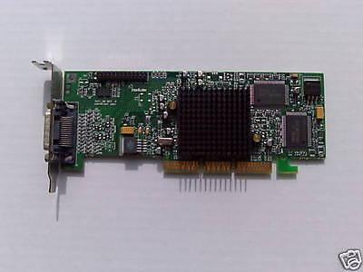 Dell 5M801/05M801 Kleinen Formfaktor Doppelt Matrox G550 32MB AGP Grafikkarte