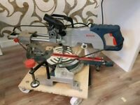 Bosch gcm 800 sj sliding mitre saw excellent
