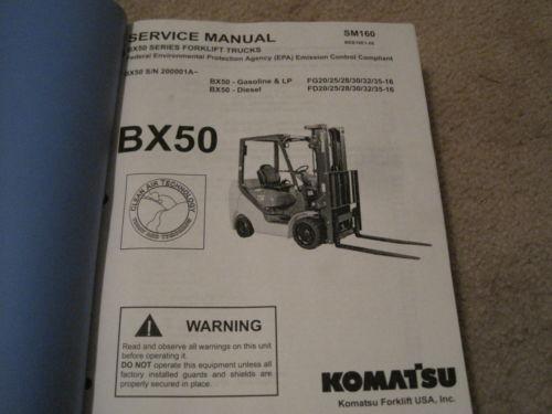 komatsu fb15-12 инструкция