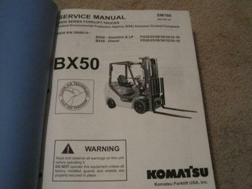 komatsu forklift manual