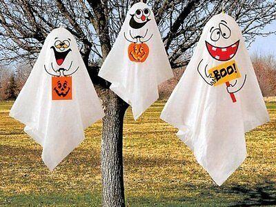 Fantasma Halloween Decoración para Colgar, Paquete de 3 - Fantasma Halloween