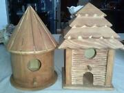 Unfinished Wood Bird House