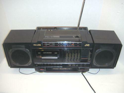 jvc pc portable stereos boomboxes ebay. Black Bedroom Furniture Sets. Home Design Ideas