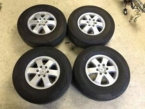Mercedes Sprinter Rims Light-Alloy Wheels 6.5 J x 16 and Contine