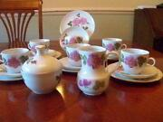 Pink China Tea Set