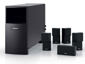 Bose  Wired Surround Sound System with Pioneer Amp.  MINT
