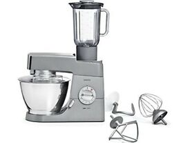 Bargain Brand NEW Kenwood Chef Classic KM331 4.6 Litre kitchen machine Silver, Smoke & Pet Free Home