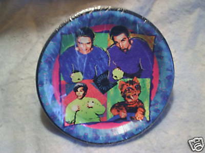 1993 SATURDAY NIGHT LIVE PAPER PLATES toonces,hanz & franz,s.smalley al franken