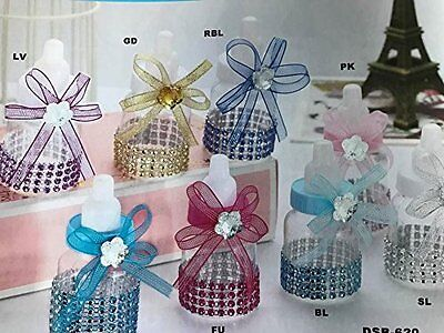 10 Baby Bottle Fillable Baby Shower Favors Gift Decoration Ideas ](Baby Shower Decorations Ideas)