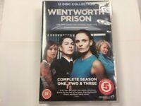 wentworth prison seasons 1-3 dvd boxset