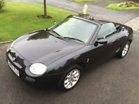MGF 2002 Low mileage, well maintained