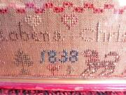 Antique Embroidery Sampler