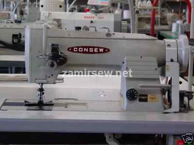 Consew 2 Needle Walking Foot Sewing Machines 339rb-4 Head Only 14