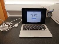 Macbook pro retina 13in screen late 2013 hardly used boxed 4gb