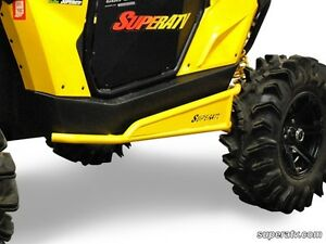 ATV TIRE RACK Can-Am Maverick Rock Slider Nerf Bars