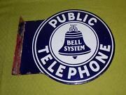 Antique Telephone Sign