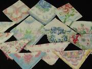Vintage Handkerchief Lot