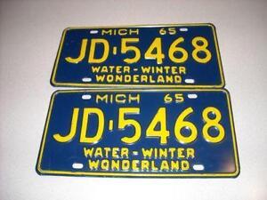 Old License Plates Ebay