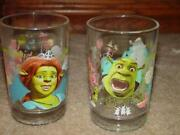 McDonalds Shrek Glasses