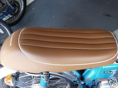 """HONDA SS 50 SEAT COVER WITH SEAT STRAP /""""WITH FREE POST/"""""""