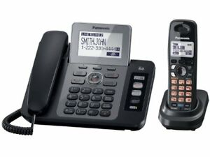 Panasonic 2-line Base+Handset DECT 6 exp with digital answering