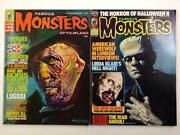 Famous Monsters Lot