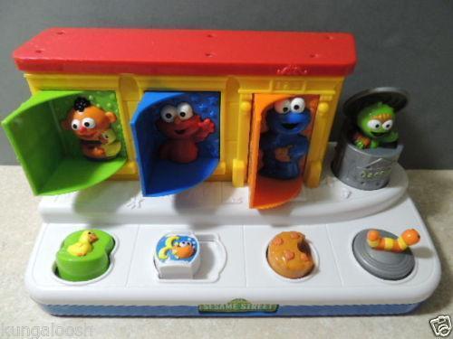 Sesame Street Musical Toys : Sesame street musical toy ebay
