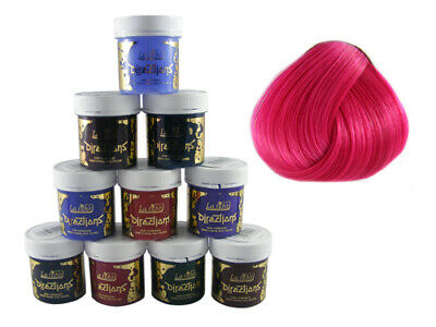 LA RICHE DIRECTIONS HAIR DYE COLOUR FLAMINGO PINK x 2 for sale  Shipping to Ireland