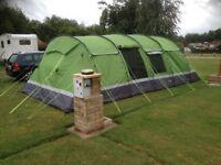 8 berth 4 bed kalahari tent brand new plus extras