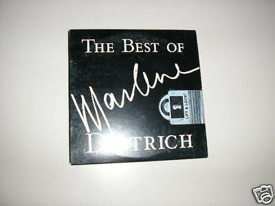 CD Pop Best Of Marlene Dietrich SONY LEGACY Cardboard