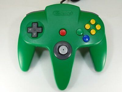 USED NINTENDO 64 Controller Bros Green Japan RARE
