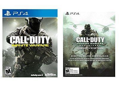 Ps4 Call Of Duty Infinite Warfare   Modern Warfare Remastered Voucher    Legacy
