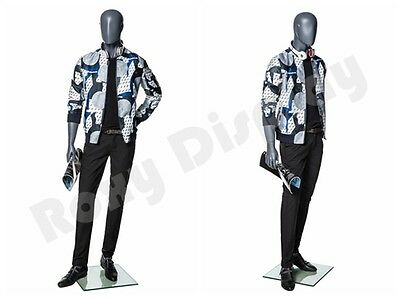 Male Fiberglass Abstract Style Mannequin Dress From Display Mz-mg003